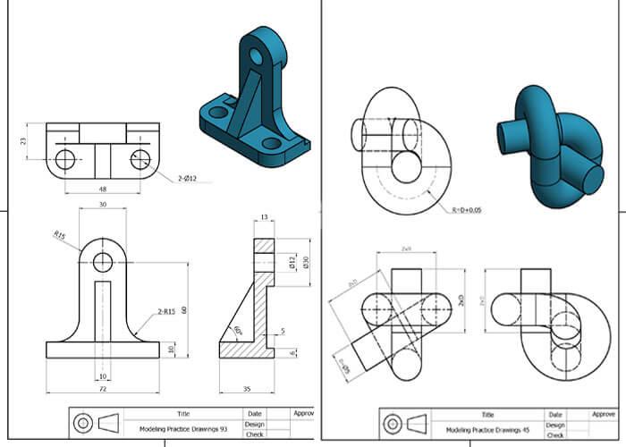 طراحی قطعه